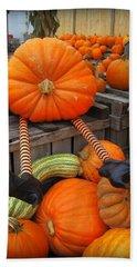 Silly Pumpkin Beach Sheet