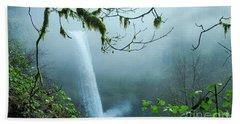 Silver Creek Falls Beach Towel
