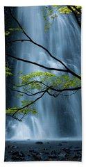 Silver Fall Beach Towel