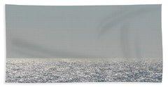 Silver Light On Lake Michigan Beach Towel