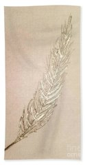 Silver Phoenix Beach Towel