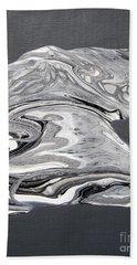 Silver Strike L Beach Towel