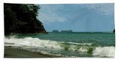 Simple Costa Rica Beach Beach Towel