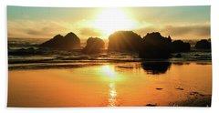 Simple Sunset Beach Sheet