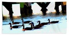 Simply Geese Beach Sheet