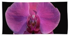 Simply Orchids Beach Towel