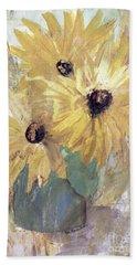 Simply Sunflowers  Beach Towel