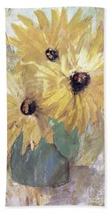 Simply Sunflowers  Beach Sheet