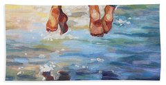 Simply Together Beach Towel