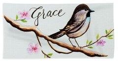 Sing Grace Beach Towel