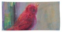 Sing Little Bird Beach Towel