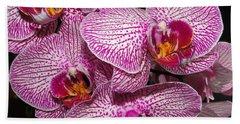 Singapore Orchid Beach Towel