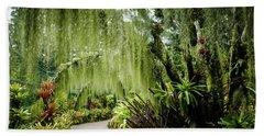 Singapore Orchid Garden Beach Sheet