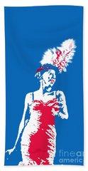 Singer Art Beach Towel