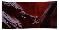 Singing Canyon At Grand Staircase Escalante National Monument In Utah Beach Towel
