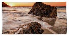 Singing Water, Singing Beach Beach Towel
