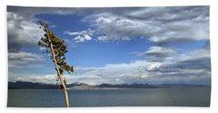 Single Tree - 365-359 Beach Towel by Inge Riis McDonald