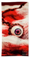 Sinister Sight Beach Towel by Jorgo Photography - Wall Art Gallery