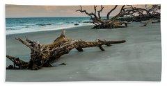 Sunset On Jekyll Island Beach Towel