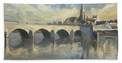 Sint Servaas Bridge Maastricht Beach Towel