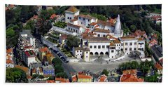 Sintra From Above Beach Towel