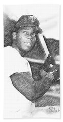 Rod Carew Beach Towel