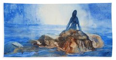 Siren Song Beach Towel by Marilyn Jacobson