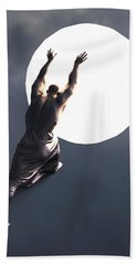 Sisyphus Lamp 05 Beach Towel