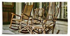 Sit A Spell Beach Towel