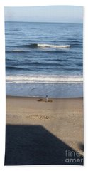 Beach Towel featuring the photograph Sittin And Thinkin  by Marie Neder