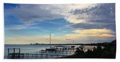 Sittin' On The Dock Of The Bay Beach Towel