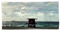 Sitting On The Beach Beach Sheet