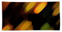 Beach Towel featuring the painting Sivilia 6 Abstract by Donna Corless