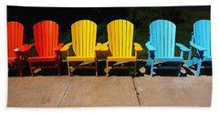 Six Chairs Beach Towel