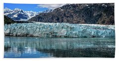 Size Perspective No Margerie Glacier Beach Towel