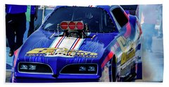 Sizemore Construction Pontiac Funny Car Beach Sheet