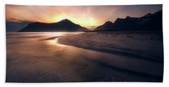 Skagsanden Sunrise Beach Towel