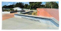 Beach Sheet featuring the photograph Skate Park by Ray Shrewsberry