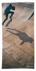 Skater Boy 001 Beach Sheet