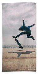 Skater Boy 003 Beach Towel