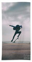 Skater Boy 004 Beach Sheet