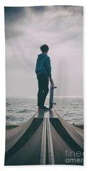 Skater Boy 005 Beach Towel