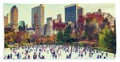 New York Central Park Beach Sheet