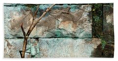 Skc 2510 Worn Out  Beach Towel by Sunil Kapadia