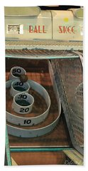Skee Ball At Marty's Playland Beach Towel