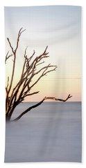 Skeleton Tree In The Ocean Beach Towel