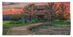 Skidaway Island State Park Overlook Beach Towel by Rob Sellers