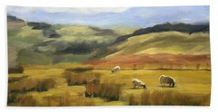 Skiddaw Massif  Beach Towel