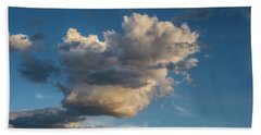 Skies Over Ghost Ranch New Mexico Beach Towel