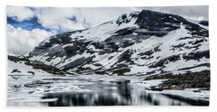 Skjolden Glacial Beauty Beach Towel